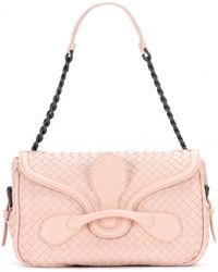Bottega Veneta Rialto Leather Shoulder Bag - Lyst