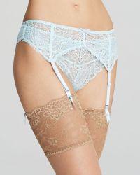 Heidi Klum Intimates Lune De Miel Suspender Belt - Lyst