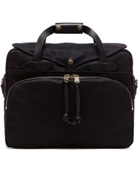 Filson - The Black Collection Twill Padded Laptop Briefcase - Lyst