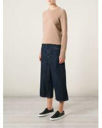 Societe Anonyme - Wide Leg Denim Shorts - Lyst