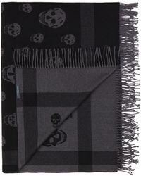 Alexander McQueen Skull Blanket - Lyst