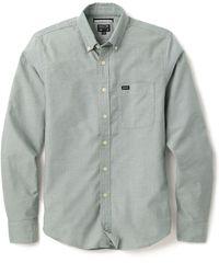 RVCA That'Ll Do Oxford Shirt - Lyst