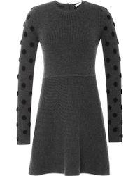Thakoon Addition Wool-Blend Flared Knit Dress - Lyst