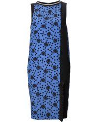 Emanuel Ungaro Sleeveless Daisy Print Dress - Lyst