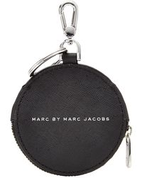 Marc By Marc Jacobs Printed Coin Purse With Keychain - Lyst