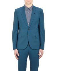Paul Smith Blue Poplin Sportcoat - Lyst