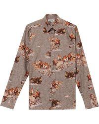 Paul & Joe Horse Print Shirt - Lyst