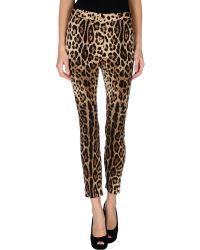Dolce & Gabbana Casual Trouser - Lyst