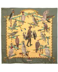 Hermes Pre-Owned Les Oiseaux Du Roy - Lyst