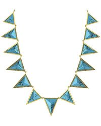 House Of Harlow 1960 Triangle Theorem Collar Necklace - Lyst