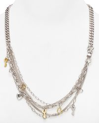 Marc By Marc Jacobs Looped Multi Chain Necklace 26 - Lyst