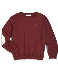 Burberry Little Boys Check Elbow Patch Sweater - Lyst