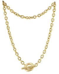 Karen Kane Collins Chain Necklace - Lyst