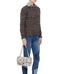 dcb045b08228 Madison Avenue Couture - Runway Edition Chanel Floral Tweed Large Classic  Double Flap Bag - Lyst