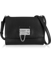 Dolce & Gabbana Monica Medium Textured-leather Shoulder Bag - Lyst