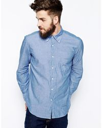 Gant Rugger Shirt with Selvage Trim - Lyst