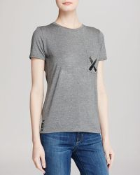Umano - The Classico Crewneck Tee With The X - Lyst