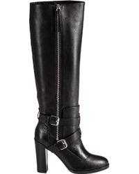 Rebecca Minkoff   Billie Leather Knee-High Boots   Lyst