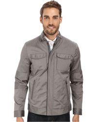 Calvin Klein Pinstripe Cotton Blend Jacket - Lyst