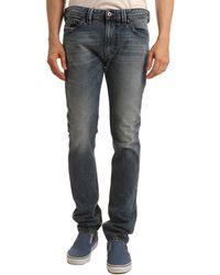 Diesel Thavar Slim Fit Faded Stone Jeans - Lyst