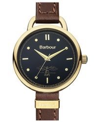 Barbour - 'heritage' Strap Watch - Lyst