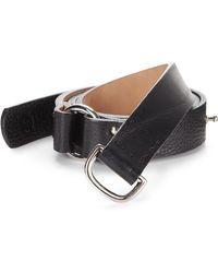 McQ by Alexander McQueen Leather Belt - Lyst