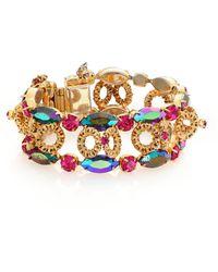 House of Lavande | 1950s Vintage Multicolor Faceted Bracelet | Lyst