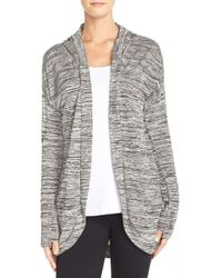 Bench - 'aqueduct' Hooded Cardigan - Lyst