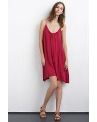 Velvet By Graham & Spencer Danacia Challis Cami Dress red - Lyst