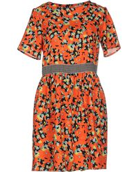 Nioi - Short Dress - Lyst