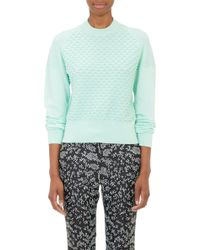 3.1 Phillip Lim Mixed-stitch Crewneck Sweater - Lyst