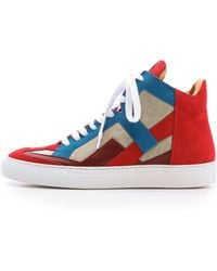 Maison Martin Margiela High Top Sneakers - Whiteasphalt - Lyst