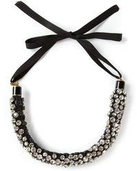 Isabel Marant Embellished Necklace - Lyst
