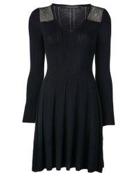 Thakoon Long Sleeve Knit Dress - Lyst