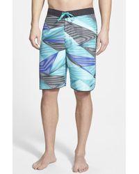 Nike Amped Armor Print Board Shorts - Lyst