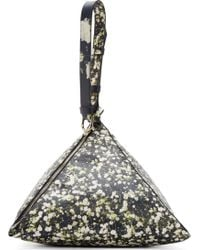 Givenchy Black Babybreath Large Triangle Bag - Lyst