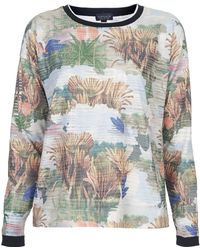 Topshop Rumours Print Sweat   - Lyst