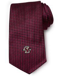 Brooks Brothers Boston College Chevron Tie - Lyst