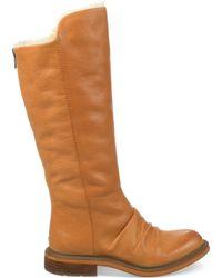 Naya Raptor Faux-Fur Tall Boots - Lyst