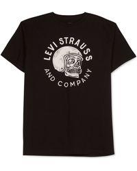 Levi's Silverful Graphic T-Shirt black - Lyst
