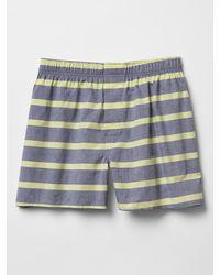 Gap Bold Horizontal Stripe Boxers - Lyst