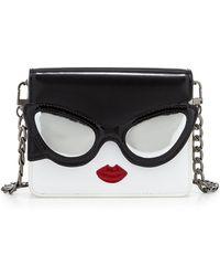 Alice Olivia Stacy Face Mini Clee Shoulder Bag Lyst