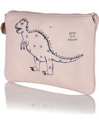 meli melo - Pink Clutch Bag Shoko For - Lyst
