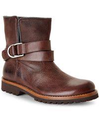 Brunello Cucinelli Brown Short Boots - Lyst