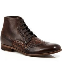 Robert Graham - Perches Woven Leather Boots - Lyst