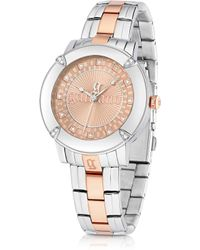 John Galliano The Decorator Two Tone Stainlees Steel Womens Watch - Lyst