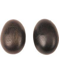 Natori | Acacia Wood Teardrop Earrings | Lyst
