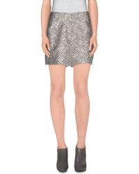 Acne   Mini Skirt   Lyst