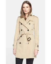 Burberry London Westminster Trench Coat - Lyst