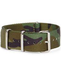 Smart Turnout - 20mm Camouflage Grosgrain Watch Strap - Lyst